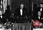 Image of President Franklin D. Roosevelt Washington DC USA, 1937, second 2 stock footage video 65675050167