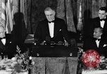 Image of President Franklin D. Roosevelt Washington DC USA, 1937, second 7 stock footage video 65675050167