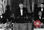 Image of President Franklin D. Roosevelt Washington DC USA, 1937, second 8 stock footage video 65675050167