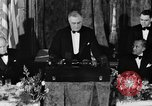 Image of President Franklin D. Roosevelt Washington DC USA, 1937, second 9 stock footage video 65675050167