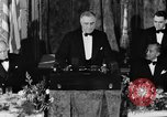 Image of President Franklin D. Roosevelt Washington DC USA, 1937, second 10 stock footage video 65675050167