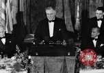 Image of President Franklin D. Roosevelt Washington DC USA, 1937, second 11 stock footage video 65675050167