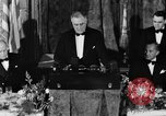 Image of President Franklin D. Roosevelt Washington DC USA, 1937, second 12 stock footage video 65675050167
