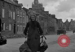 Image of old couple La Haye Du Puits France, 1944, second 11 stock footage video 65675050171