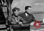 Image of Amelia Earhart San Francisco California USA, 1937, second 4 stock footage video 65675050176