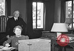 Image of Herbert Hoover voting Palo Alto California USA, 1940, second 2 stock footage video 65675050189