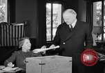 Image of Herbert Hoover voting Palo Alto California USA, 1940, second 4 stock footage video 65675050189