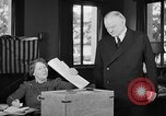 Image of Herbert Hoover voting Palo Alto California USA, 1940, second 5 stock footage video 65675050189