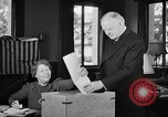 Image of Herbert Hoover voting Palo Alto California USA, 1940, second 6 stock footage video 65675050189