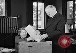 Image of Herbert Hoover voting Palo Alto California USA, 1940, second 7 stock footage video 65675050189