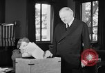 Image of Herbert Hoover voting Palo Alto California USA, 1940, second 9 stock footage video 65675050189