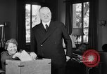 Image of Herbert Hoover voting Palo Alto California USA, 1940, second 10 stock footage video 65675050189