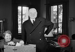Image of Herbert Hoover voting Palo Alto California USA, 1940, second 11 stock footage video 65675050189