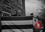 Image of FDR dedicates new post office Hyde Park New York USA, 1940, second 3 stock footage video 65675050190