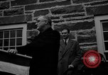Image of FDR dedicates new post office Hyde Park New York USA, 1940, second 5 stock footage video 65675050190
