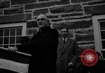 Image of FDR dedicates new post office Hyde Park New York USA, 1940, second 6 stock footage video 65675050190