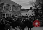 Image of FDR dedicates new post office Hyde Park New York USA, 1940, second 11 stock footage video 65675050190