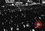 Image of Crowds celebrate on election night in Times Square New York City USA, 1940, second 6 stock footage video 65675050195