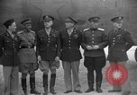 Image of American and Russian officers Tehran Iran, 1943, second 4 stock footage video 65675050205