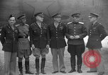 Image of American and Russian officers Tehran Iran, 1943, second 7 stock footage video 65675050205