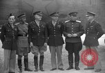Image of American and Russian officers Tehran Iran, 1943, second 8 stock footage video 65675050205