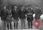 Image of American and Russian officers Tehran Iran, 1943, second 9 stock footage video 65675050205