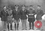 Image of American and Russian officers Tehran Iran, 1943, second 11 stock footage video 65675050205