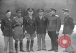 Image of American and Russian officers Tehran Iran, 1943, second 12 stock footage video 65675050205