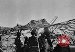 Image of British troops firing 5.5 inch field gun North Africa, 1941, second 1 stock footage video 65675050208