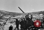 Image of British troops firing 5.5 inch field gun North Africa, 1941, second 2 stock footage video 65675050208