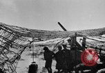 Image of British troops firing 5.5 inch field gun North Africa, 1941, second 3 stock footage video 65675050208