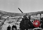 Image of British troops firing 5.5 inch field gun North Africa, 1941, second 4 stock footage video 65675050208