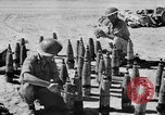 Image of British troops firing 5.5 inch field gun North Africa, 1941, second 5 stock footage video 65675050208