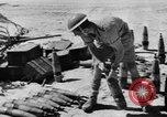 Image of British troops firing 5.5 inch field gun North Africa, 1941, second 7 stock footage video 65675050208