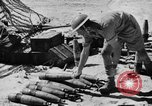 Image of British troops firing 5.5 inch field gun North Africa, 1941, second 8 stock footage video 65675050208