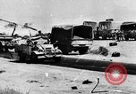 Image of British soldiers retrieve a disabled tank while being shelled North Africa, 1941, second 1 stock footage video 65675050209