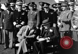 Image of Winston Churchill Casablanca Morocco, 1943, second 5 stock footage video 65675050213