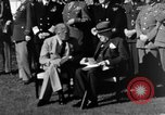 Image of Winston Churchill Casablanca Morocco, 1943, second 8 stock footage video 65675050213