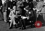 Image of Winston Churchill Casablanca Morocco, 1943, second 9 stock footage video 65675050213