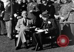 Image of Winston Churchill Casablanca Morocco, 1943, second 10 stock footage video 65675050213