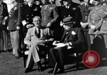 Image of Winston Churchill Casablanca Morocco, 1943, second 11 stock footage video 65675050213