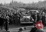 Image of Franklin Roosevelt's motorcade Washington DC USA, 1936, second 7 stock footage video 65675050232