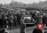 Image of Franklin Roosevelt's motorcade Washington DC USA, 1936, second 10 stock footage video 65675050232