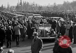 Image of Franklin Roosevelt's motorcade Washington DC USA, 1936, second 11 stock footage video 65675050232