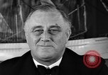 Image of Franklin Roosevelt Washington DC USA, 1936, second 3 stock footage video 65675050235