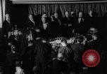 Image of Democratic Party Victory Dinner Washington DC USA, 1937, second 5 stock footage video 65675050246