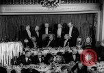 Image of Democratic Party Victory Dinner Washington DC USA, 1937, second 8 stock footage video 65675050247