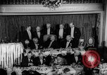 Image of Democratic Party Victory Dinner Washington DC USA, 1937, second 9 stock footage video 65675050247