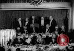 Image of Democratic Party Victory Dinner Washington DC USA, 1937, second 12 stock footage video 65675050247