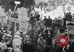 Image of banners supporting Franklin Roosevelt Philadelphia Pennsylvania USA, 1936, second 1 stock footage video 65675050258
